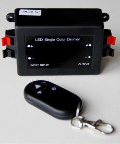 Funk Dimmer für LED-Streifen mit Fernbedienung